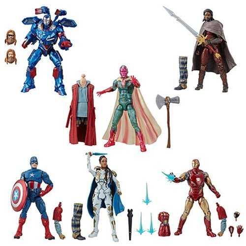 Marvel Legends AVENGERS Wave 5 BAF Thor (Set of 6)