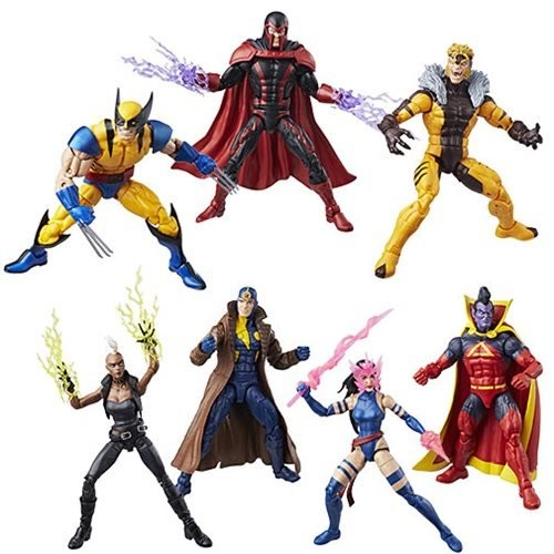 Marvel Legends X-Men Wave 3 BAF Apocalypse (Set of 7)