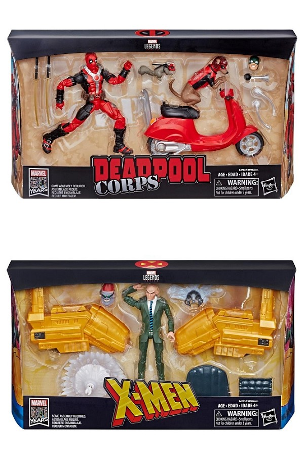 Marvel Legends DEADPOOL CORPS and PROFESSOR X Sets