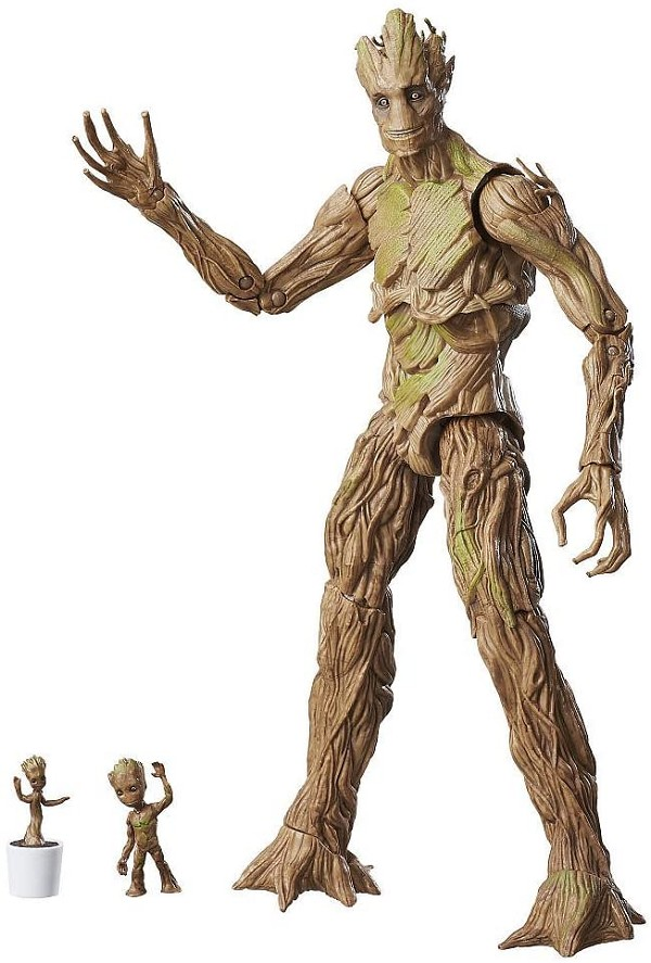 Marvel Legends GOTG Evolution of GROOT