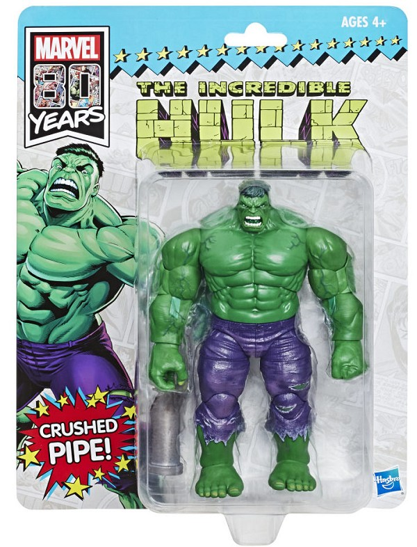 Marvel Legends MARVEL COMICS 80TH ANNIVERSARY THE INCREDIBLE HULK