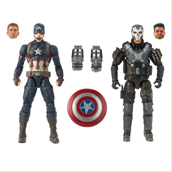 Marvel Studios The First Ten Years Marvel Legends Captain America vs Crossbones