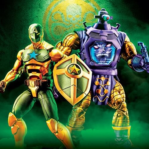 Marvel Legends SUPREME CAPTAIN AMERICA and ARNIM ZOLA
