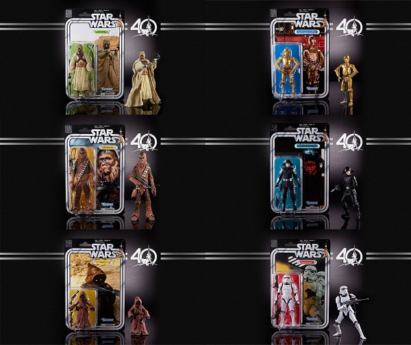 Hasbro Star Wars 40th ANNIVERSARY Wave 2 Case