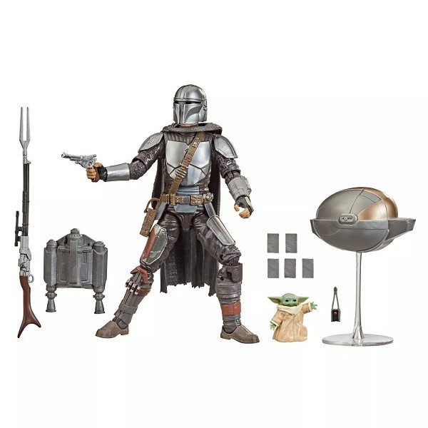 Star Wars Black Series The Mandalorian DIN DJARDIN & GROGU Set