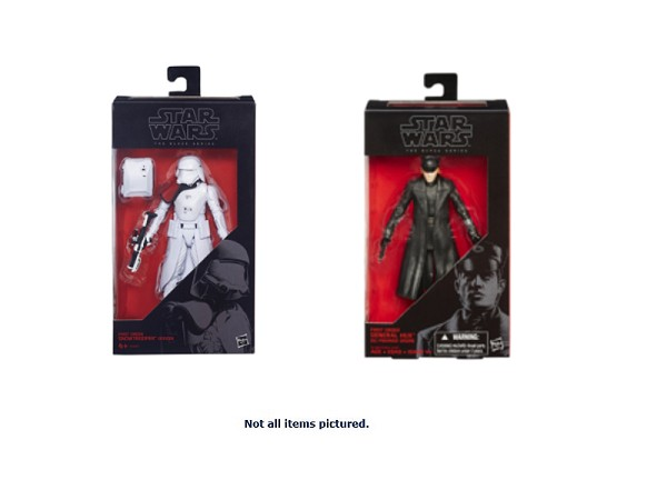"Star Wars 2015 Episode VII Black Series 6"" Wave 4"