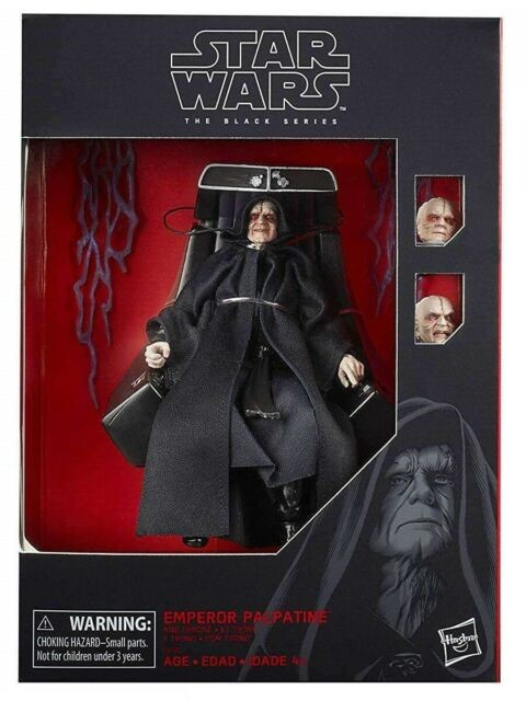Star Wars Black Series EMPEROR PALPATINE with THRONE