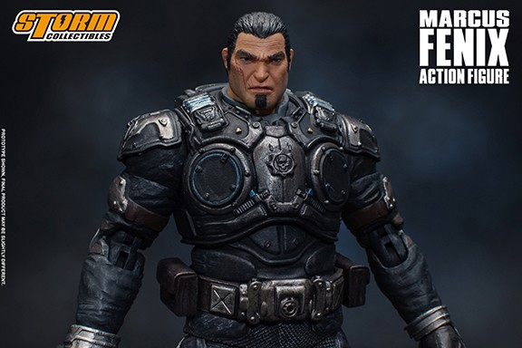 Storm Collectibles Gears of War MARCUS FENIX