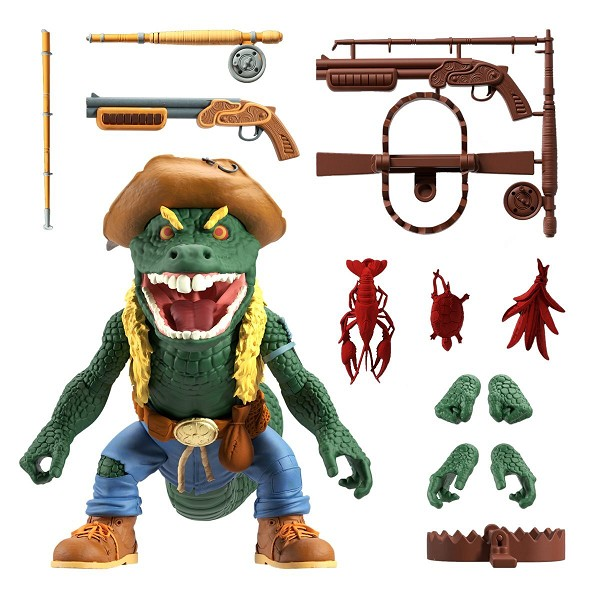 Super7 TMNT Ultimates LEATHERHEAD