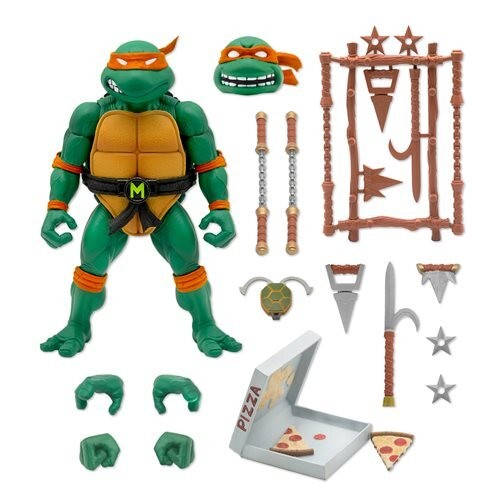 Super7 TMNT Ultimates MICHAELANGELO