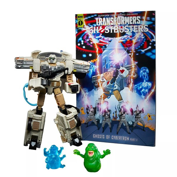 Transformers Collaborative:  Ghostbusters Afterlife ECTOTRON