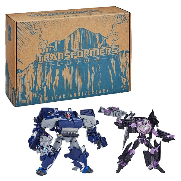 Transformers: Prime 10th Anniversary WAR BREAKDOWN AND JET VEHICON