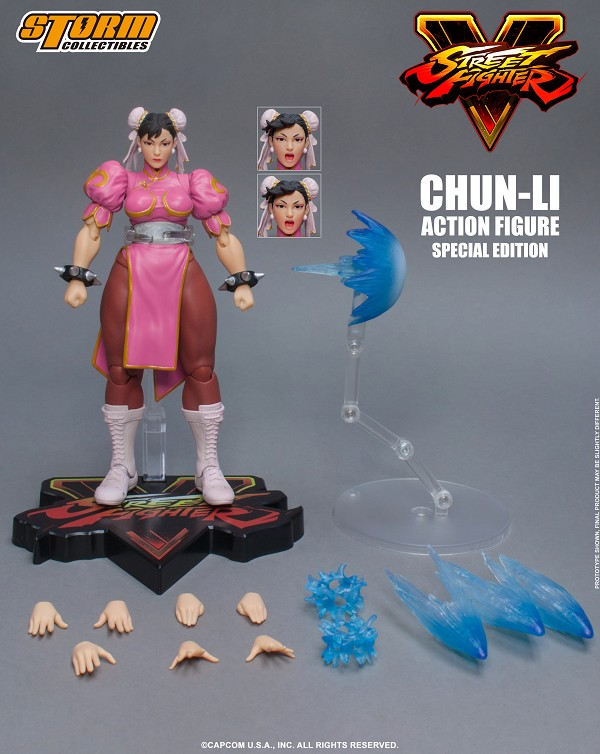 Storm Collectibles Street Fighter CHUN-LI (SPECIAL EDITION)