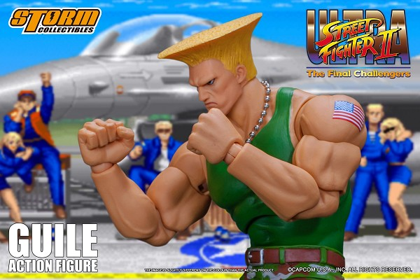 Storm Collectibles Ultra Street Fighter II GUILE