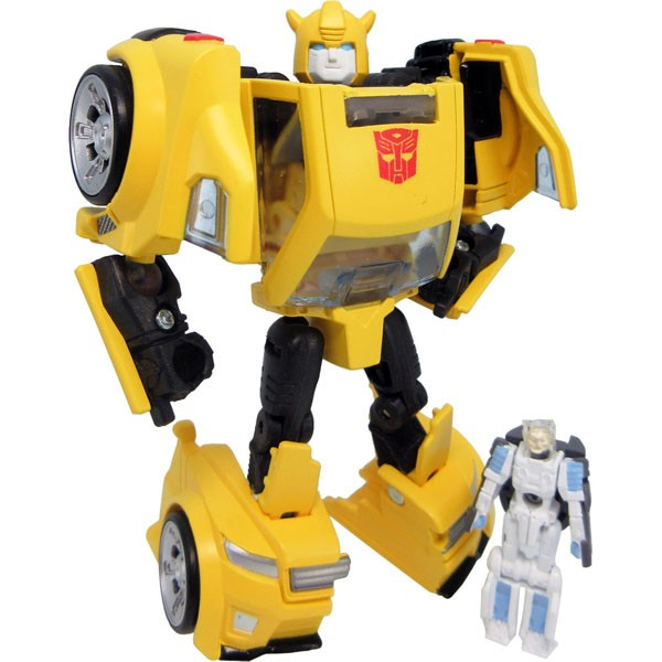 Takara Tomy Legends LG-54 BUMBLEBEE with SPIKE in Exo-Suit