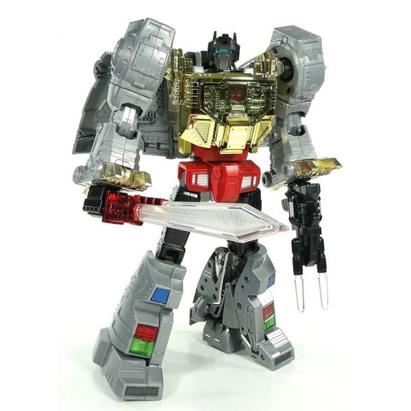 Takara Tomy Masterpiece MP-08 GRIMLOCK w/Coin