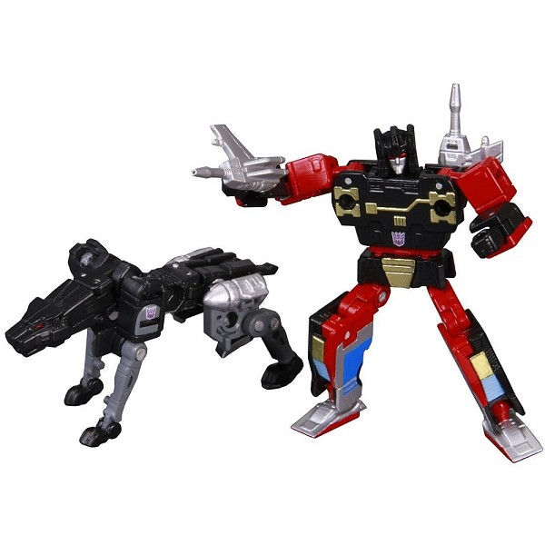 Takara Tomy Masterpiece MP-15 - RUMBLE & JAGUAR