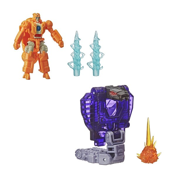 Transformers: Earthrise Battle Masters Wave 2 - RUNG & SLITHERFANG