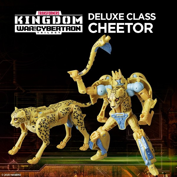 Transformers: Kingdom Deluxe Class CHEETOR