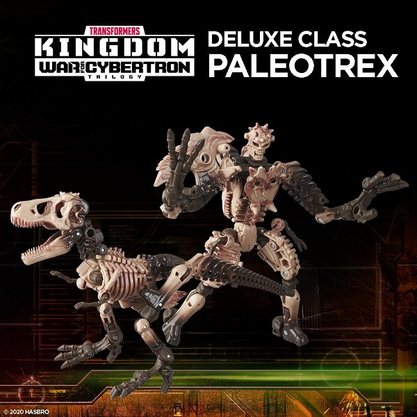 Transformers: Kingdom Deluxe Class PALEOTREX
