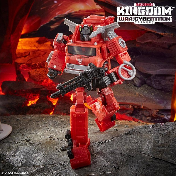 Transformers: Kingdom Voyager Class INFERNO