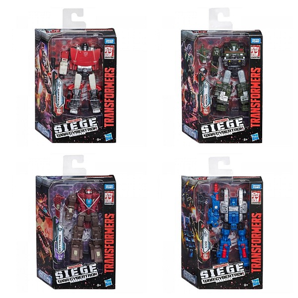 Transformers: Siege Deluxe Wave 1 Set of 4