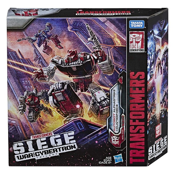 Transformers: Siege Autobot Alphastrike Counterforce 3 Pack - Final Strike Figure Series