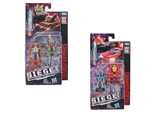 Transformers: Siege MICRO MASTERS Autobots Set of 2