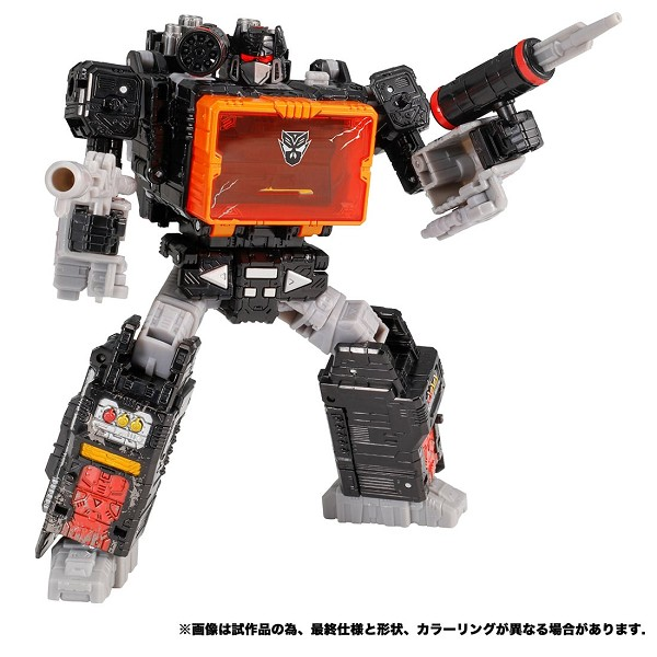 Takara Exclusive Transformers: Siege Voyager Class SOUNDBLASTER