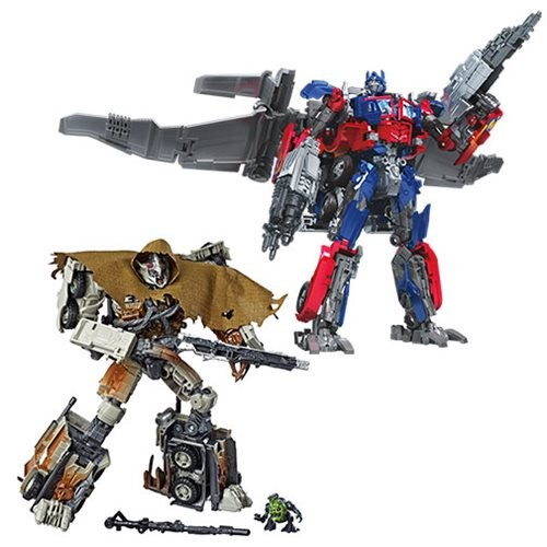 Transformers: Studio Series Leader Class Wave 3 Set (DOTM Megatron and Jetwing Optimus)
