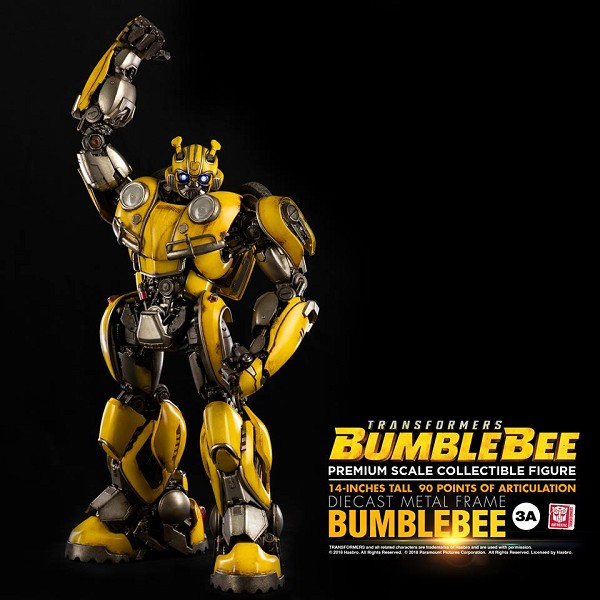 World of 3A Bumblebee Movie PREMIUM Scale BUMBLEBEE