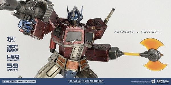 World of 3A Transformers Generation One - Optimus Prime Classic Edition