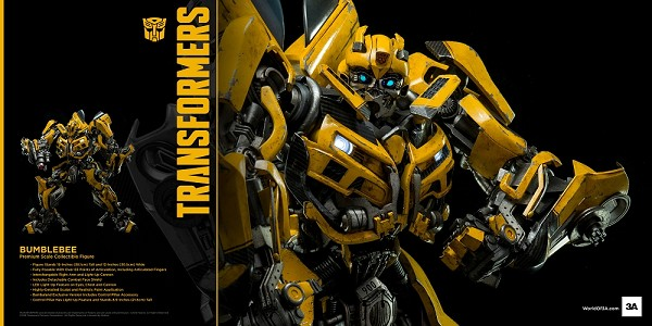 World of 3A Movie BUMBLEBEE (MIB Copy)