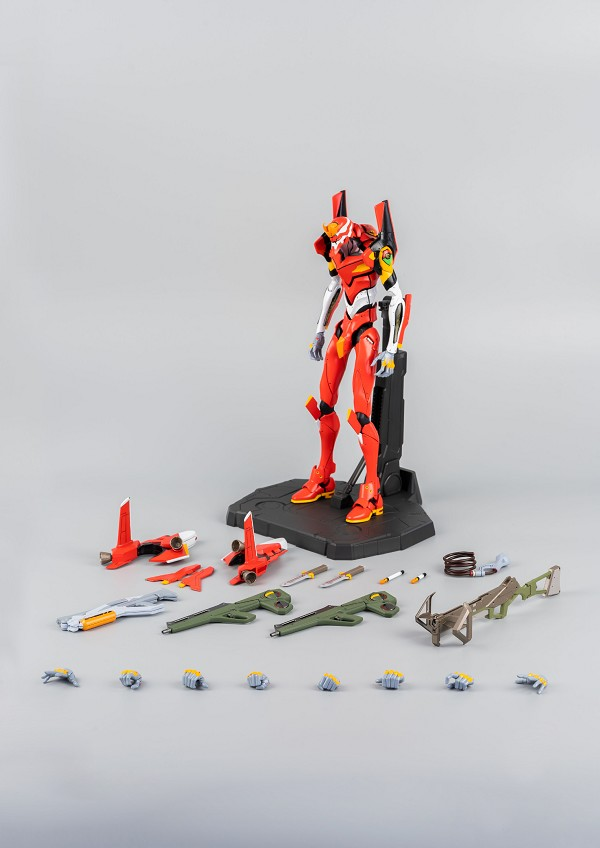 ThreeZero Rebuild of Evangelion Robo-Dou Unit-02 Production Model