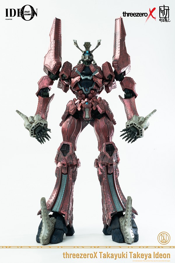 ThreeZero Takayuki Takeya Ideon - SPACE RUNWAY IDEON