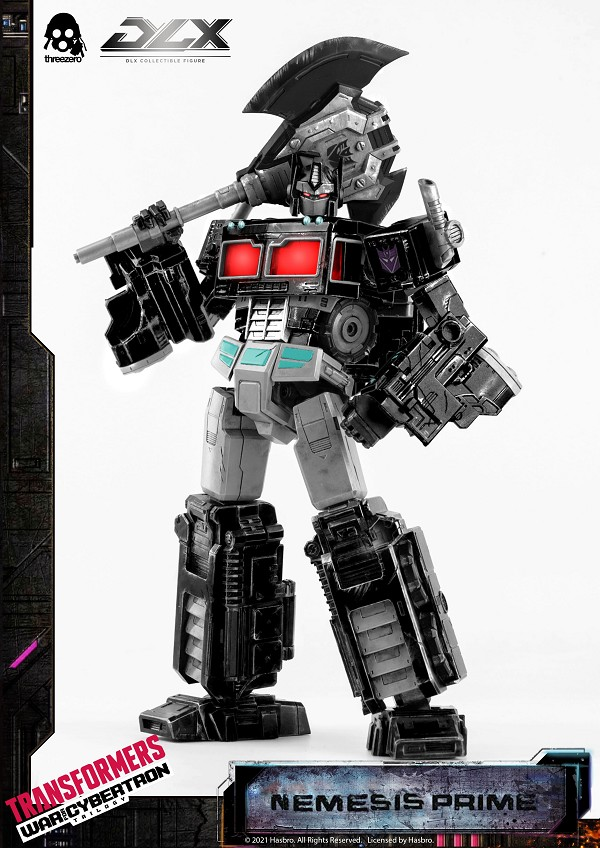 ThreeZero Transformers War for Cybertron Trilogy DLX Scale NEMESIS PRIME (Limited Edition)
